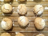 Cinnamon Browned Butter Ball Cookies