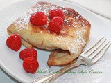 Flour Tortilla Fried Raspberry Turnover Recipe