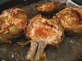 Grilled Or Baked Stuffed Artichoke Recipes