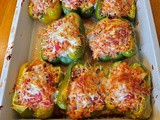 Italian Chicken Stuffed Peppers