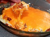 Loaded Buffalo Potato Dip