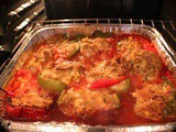 Mom's Italian Stuffed Pepper