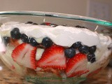 Patriotic No-Bake Trifle