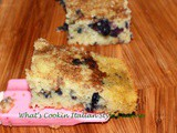 Semi Homemade Blueberry Cinnamon Bar Recipe
