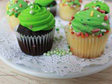 Vanilla Irish Cream or Chocolate Stout Beer Cupcakes