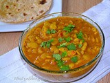 Butter beans /Lima beans/ Double beans curry