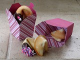 Homemade Fortune Cookies | Takeout Box diy + free Printable Fortunes