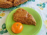 Pumpkin Spice Sourdough Scones