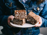 Four Ingredient Chocolate Rice Bubble Slice