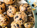 School Lunch Box Bliss Balls with Thermomix Instructions