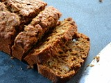 Treacle, Ginger and Oat Banana Bread