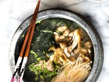 Miso Soup with Mushrooms