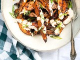 Roasted Sweet Potatoes with Chile-Lime Yogurt