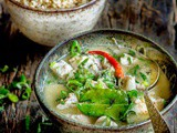 Thai Fish Curry with Coconut Milk