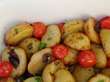 Mediterranean Baby Potatoes
