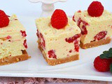 White Chocolate Raspberry Cheesecake (No-Bake)