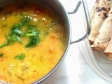 Dal Fry              ( a delicious and healthy  blend of pulses  with spices )