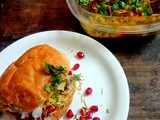 Kutchi Dabeli ( Spicy stuffed Indian burger)