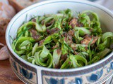 Puntarelle alla Romana With Anchovies And Garlic