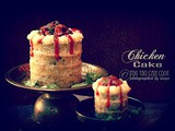 Chicken Cake | Meat Cake | Cake Using Chicken