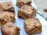 {Guest Post} – Butterscotch Blondies with Pecan nuts by Valarmathi of 'Simple and Yummy Recipes'