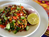{Ramada Special} – Mixed Sprouts Salad by Razina of 'The Recipes of India'