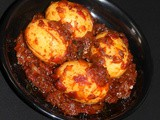 Egg roast recipe | kerala egg roast | mutta roast masala
