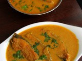 Fish curry recipe south indian, fish gravy | fish curry rice