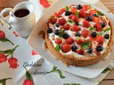 La mia Mixed Berry Cream Pie per Il Club del 27