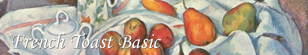 Very Good Recipes - French Toast Basic