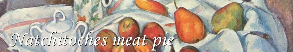 Very Good Recipes - Natchitoches meat pie