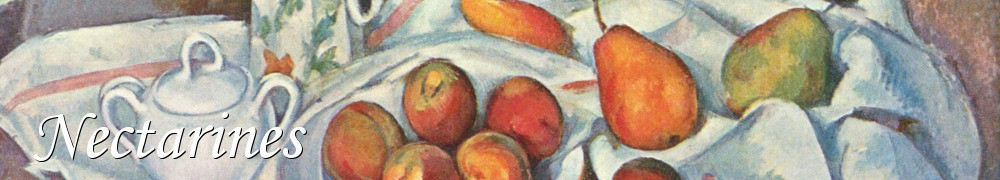Very Good Recipes - Nectarines